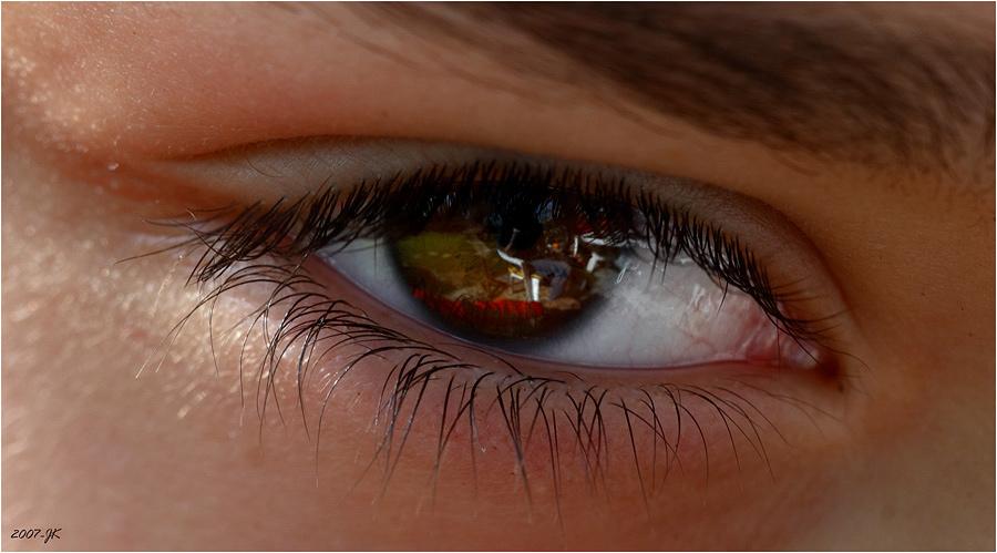 In den Augen eines Kindes