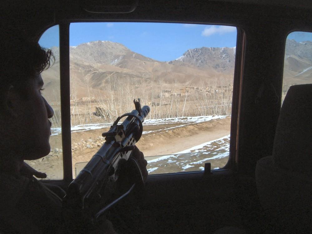 In den Bergen bei Ghazni