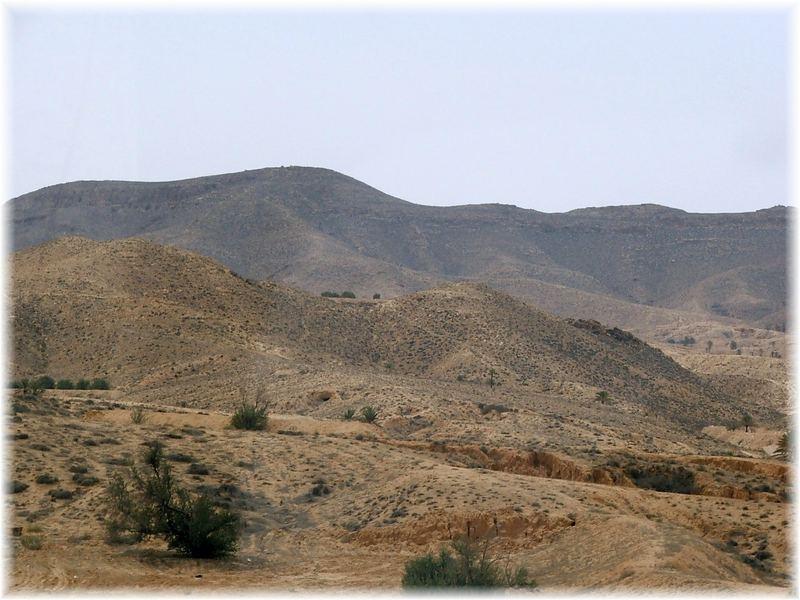 In den Bergen von Matmata