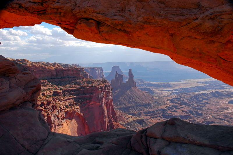 In den Canyonlands