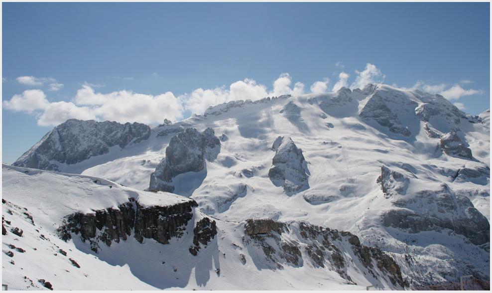 In den Dolomiten...