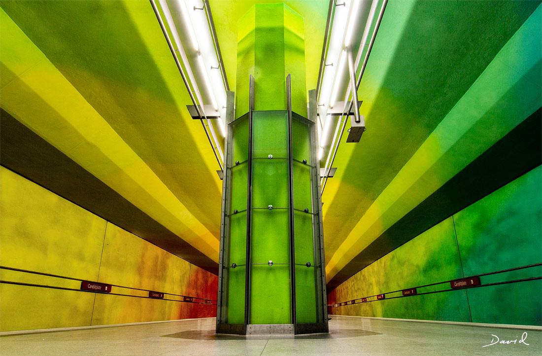 In den Eingeweiden Münchens: U-Bahnhof Candidplatz