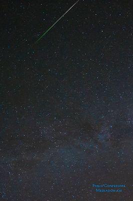 In den Farben grün weiss rot :-))) ein italienischer Sternschnuppen