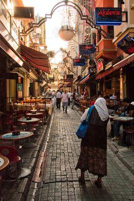 In den Gassen von Beyoglu
