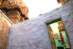 in den Gassen von Jaisalmer Indien
