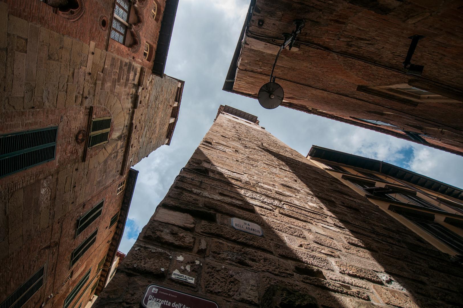 In den Gassen von Lucca.....