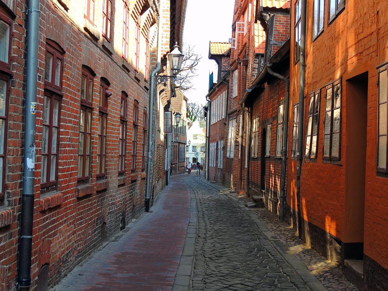In den Gassen von Lüneburg...