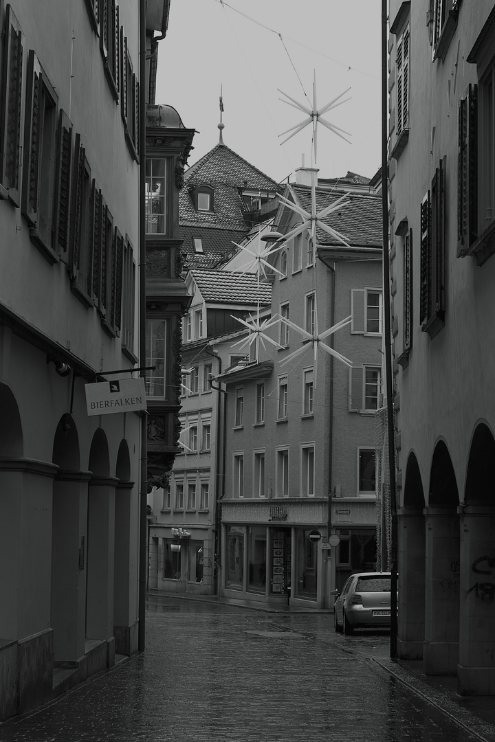 In den Gassen von St. Gallen