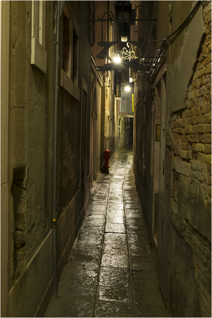 In den Gassen von Venedig