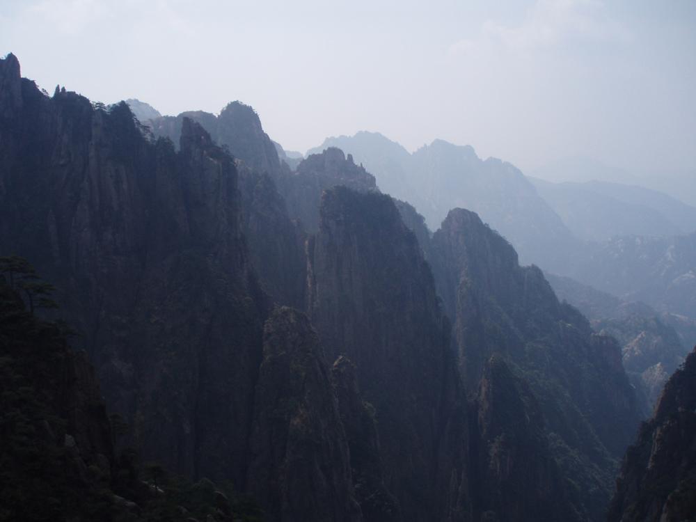 """In den """"Gelben Bergen"""" (Huangshan)"""