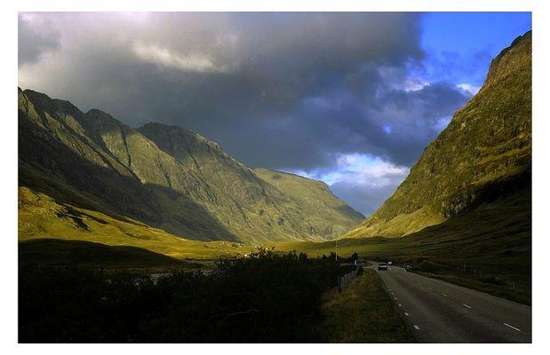 In den Highlands - Richtung Ben Nevis