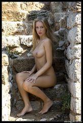 In den historischen Ruinen von Korint