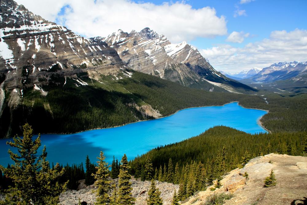 in den kanadischen Rocky Mountains
