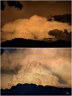 in den letzen 50 Jahren habe ich eine solche Wolkenbildung noch nie gesehen.