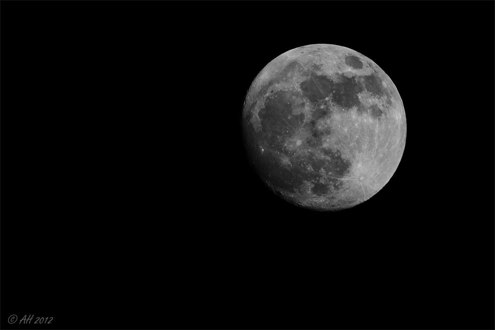 In den Mond geschaut...!