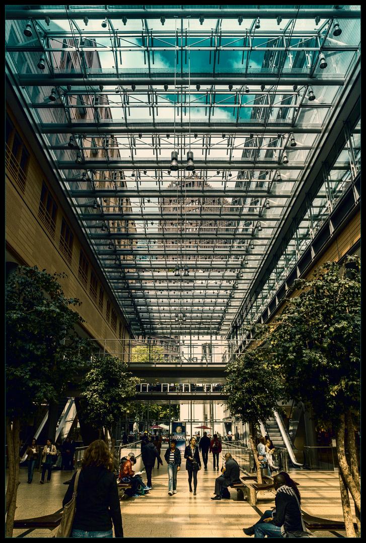 In den Potsdamer Platz Arkaden
