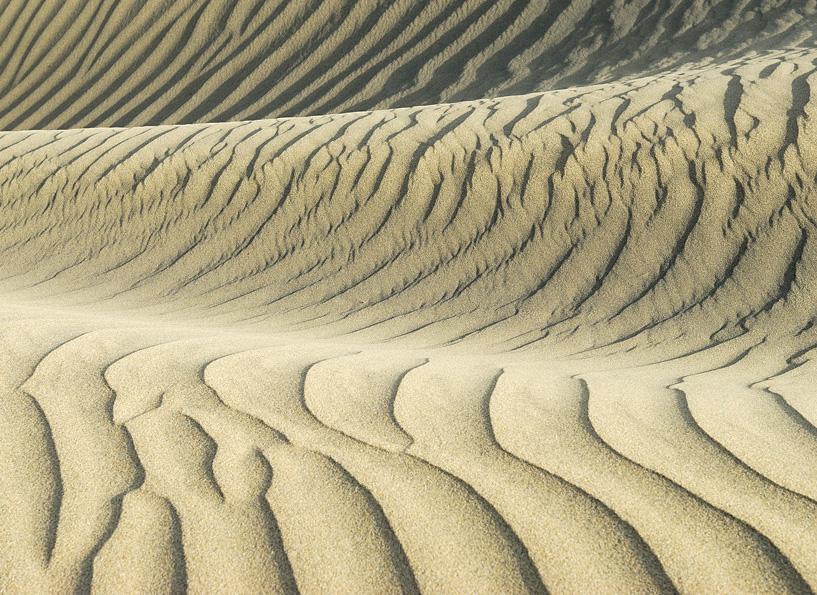 In den Sanddünen von Maspalomas auf der Insel Gran Canaria