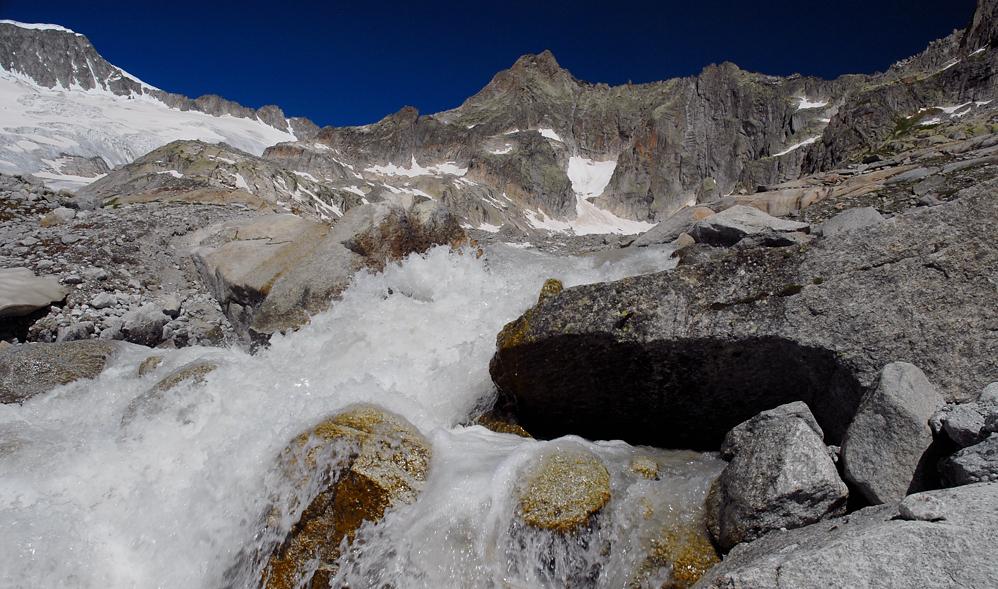 In den Schweizer Alpen von Hans-Wilhelm Grömping