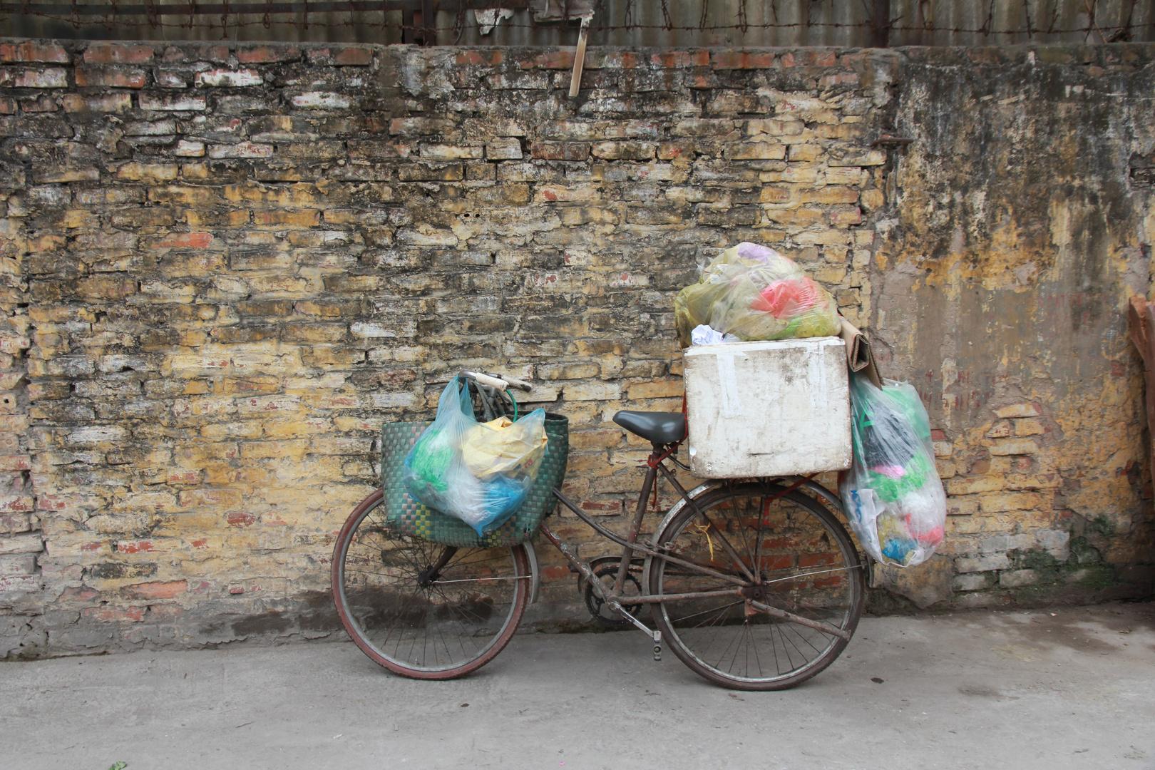 in den Seitengassen von Hanoi