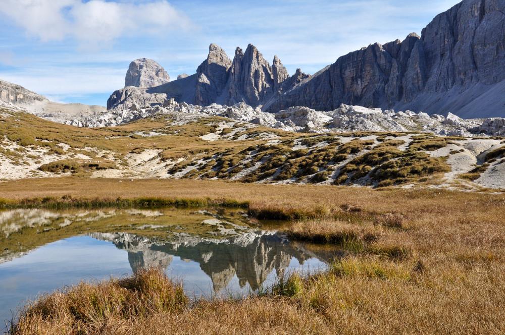 in den Sextner Dolomiten