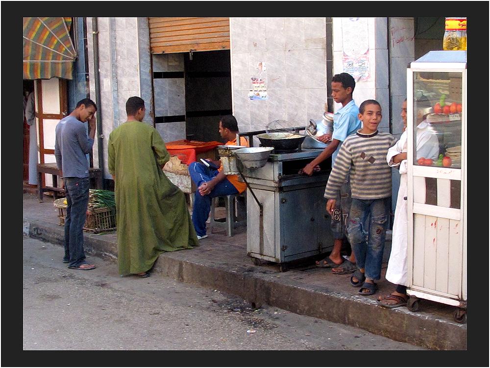 in den Souken von Luxor (13) Pommes frites