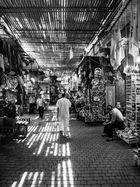 In den Souks von Marrakesch