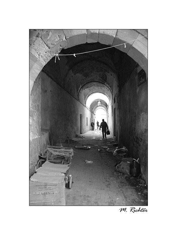 in den Souks von Tunis