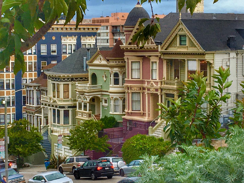 In den (steilen) Straßen von San Francisco