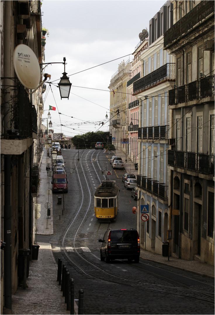 In den Strassen der Stadt