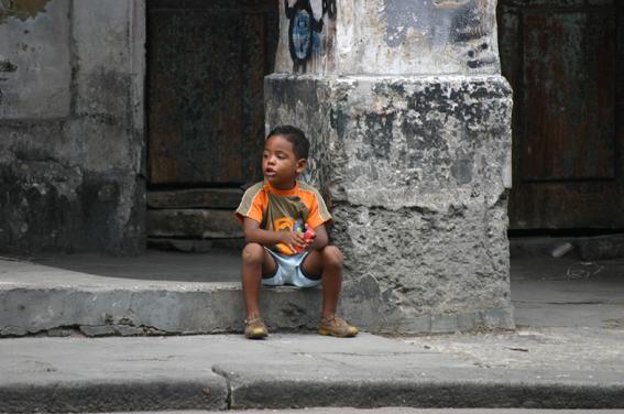 ...in den Straßen Havannas