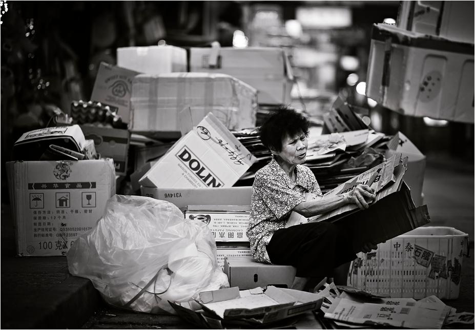 In den Strassen Hong Kongs