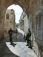 In den Straßen Jerusalems
