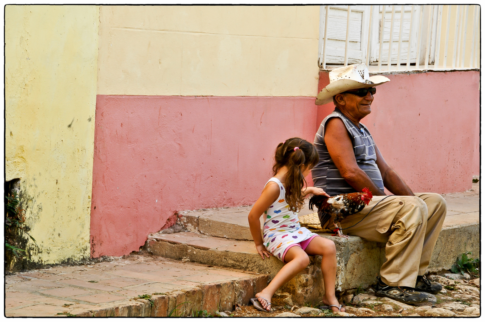 In den Strassen Trinidads...