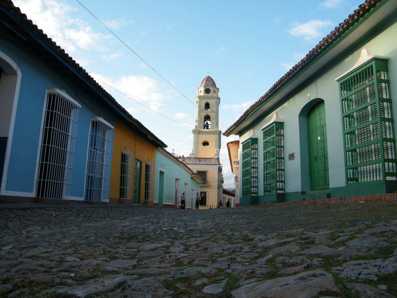 in den strassen trinidats kuba