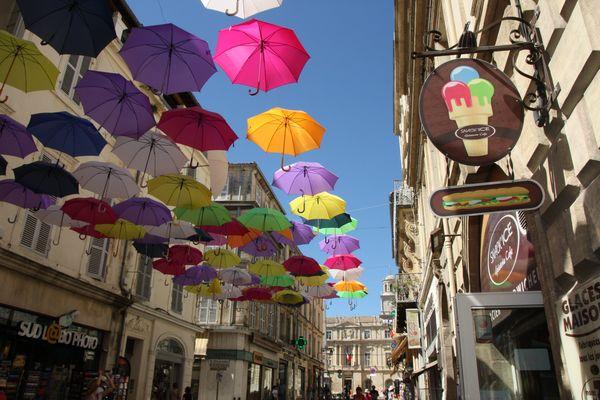 In den Straßen von Arles - heute