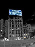 in den Straßen von Barcelona...
