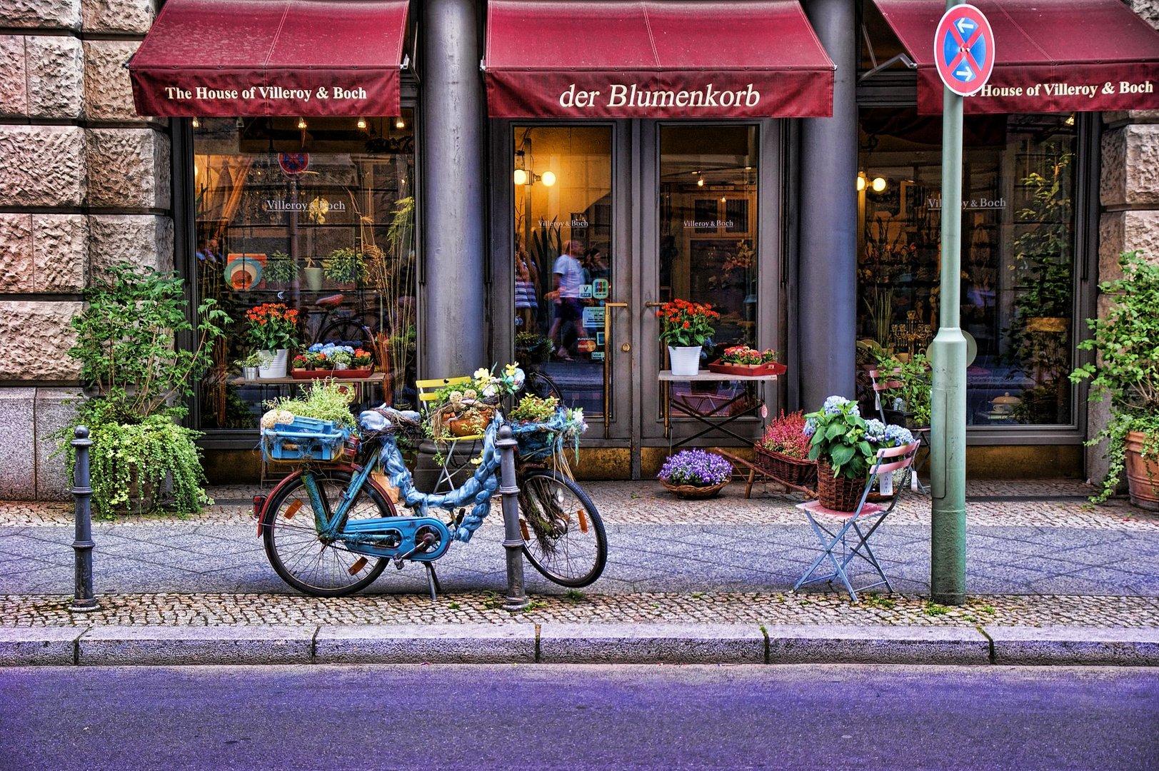In den Straßen von Berlin