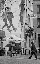 In den Straßen von Brüssel