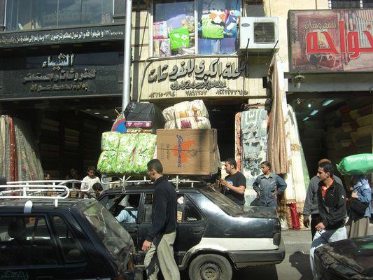 In den Straßen von Kairo