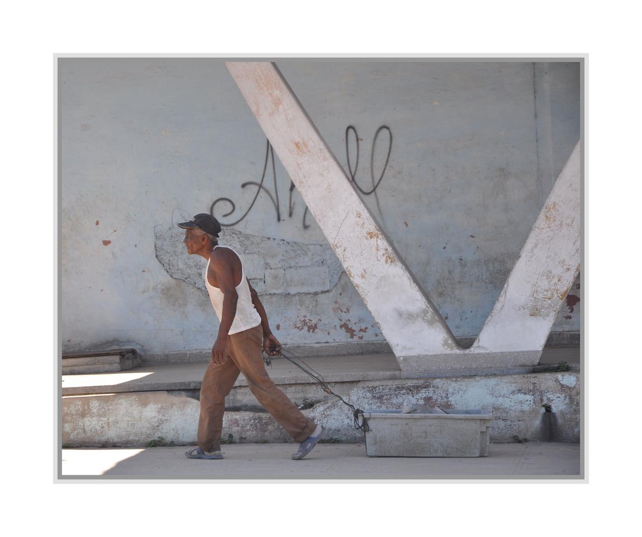 in den Straßen von La Habana