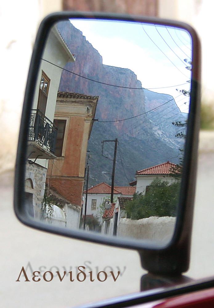 In den Straßen von Leonidion