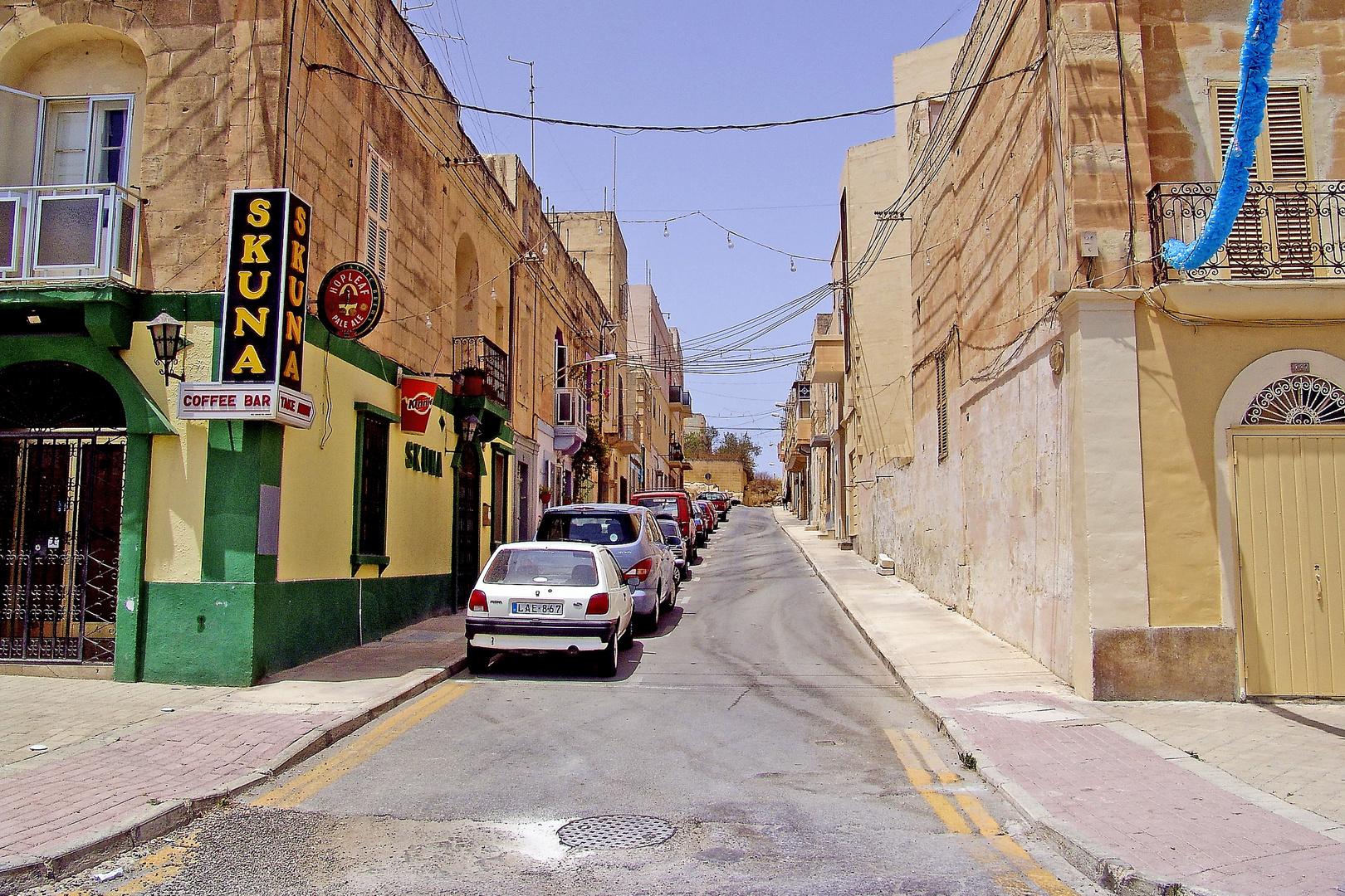 in den Straßen von Mxlokk 2 Malta
