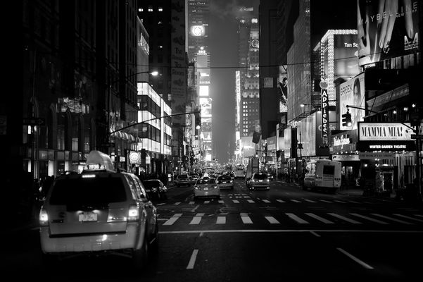 in den Straßen von New York .