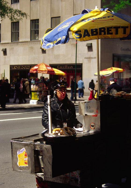 In den Straßen von NY
