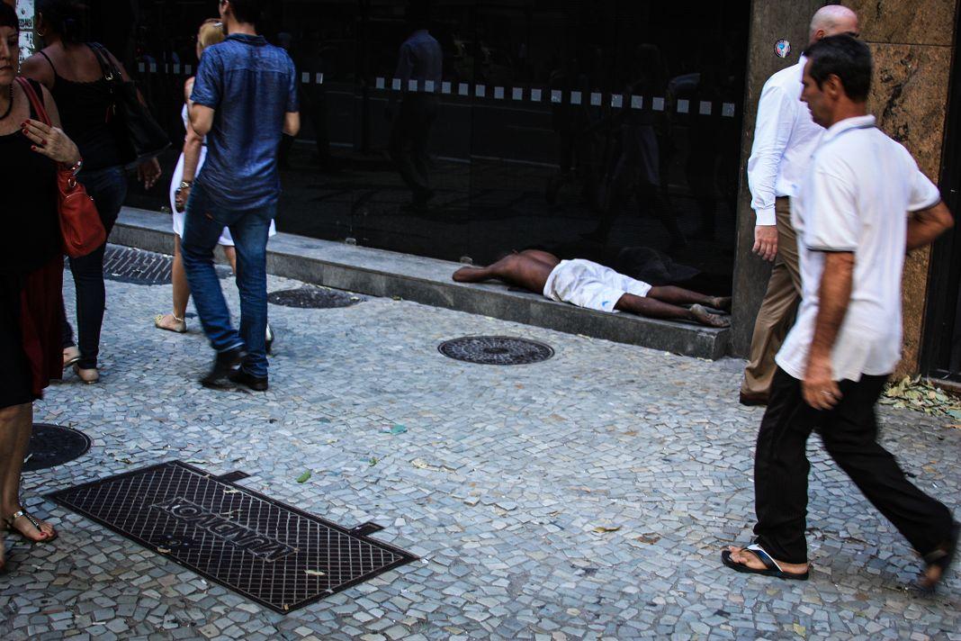 In den Straßen von Rio