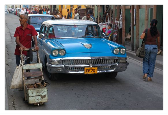 In den Straßen von Santiago de Cuba