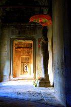 In den Tempeln von Angkor