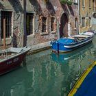 In den weniger besuchten Gassen Venedigs
