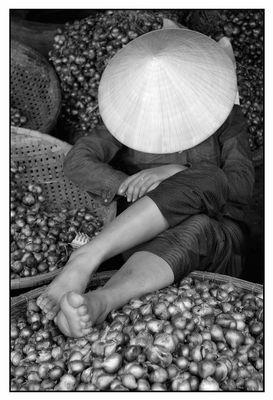 In den Zwiebeln - Hue Vietnam