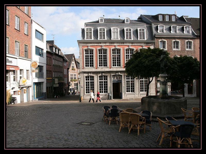 In der Aachener Altstadt